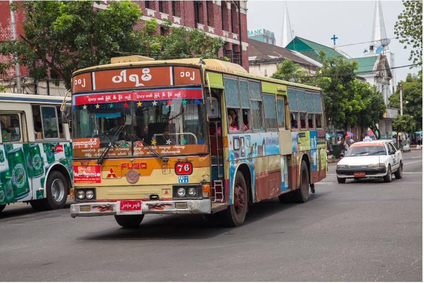 ヤンゴン市内バス