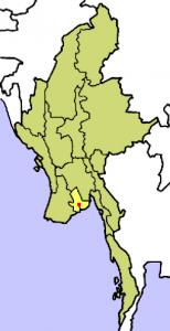 ヤンゴン地図