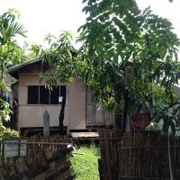 ラインターヤの民家【ヤンゴン郊外】