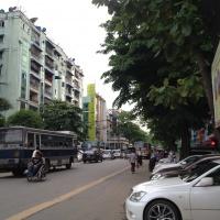 ヤンゴンダウンタウン40th ストリートあたり