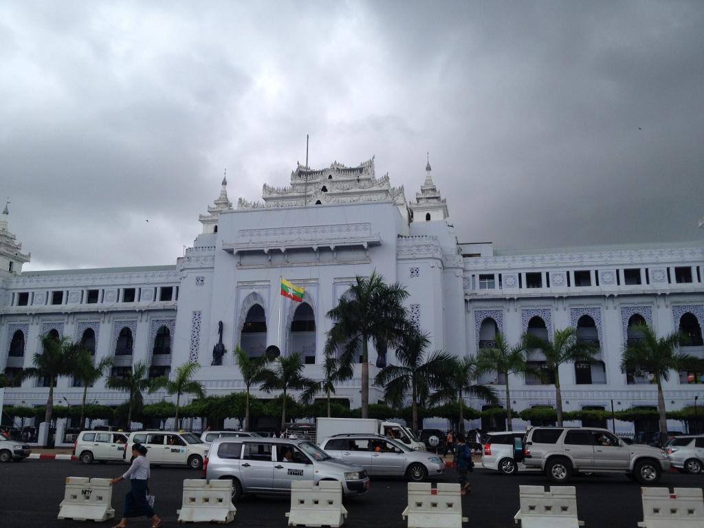 ヤンゴン市役所