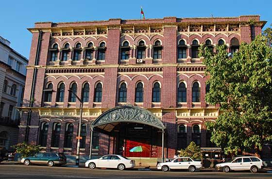 ヤンゴン中央郵便局
