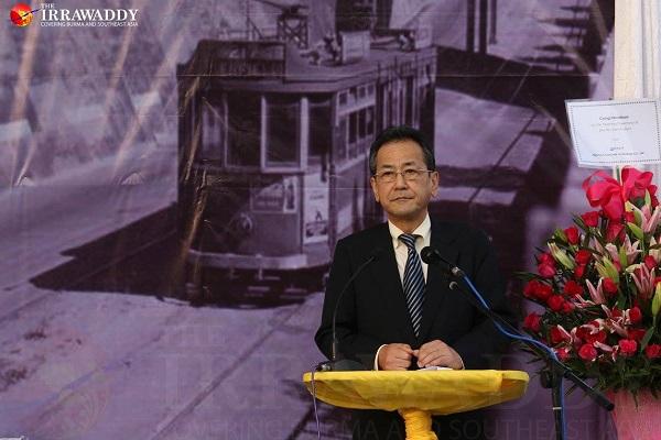 在ミャンマー日本大使館大使、樋口健史